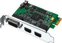 BLACKMAGIC INTENSITY PRO 4K TARJETA PCIE BLACKMAGIC