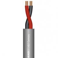 SOMMER CABLE, SP225, CABLE DE PARLANTE MERIDIAN 2xAWG13, GRIS OBSCURO